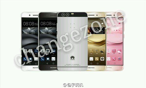 Huawei P9 с двумя тыльными камерами засветился на шпионском фото – фото 1