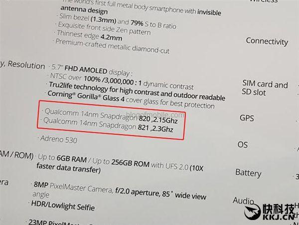 Asus ZenFone 3 Deluxe в топовой версии получит Snapdragon 821 вместо предполагаемого Snapdragon 823 – фото 2