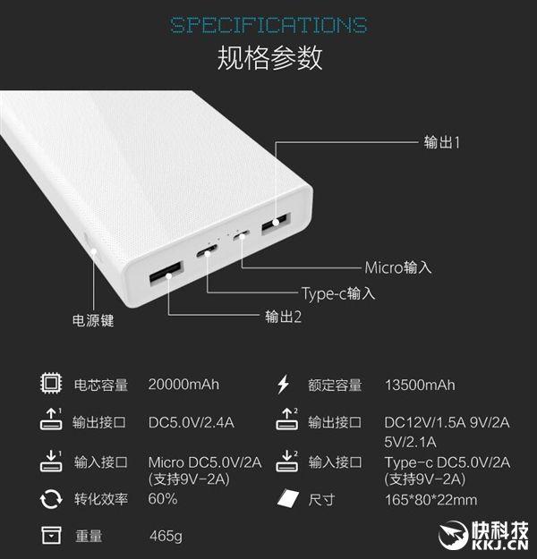 Павербанк от Besiter на 20000 мАч получил USB Type-C, поддерживает QC3.0 и стоит всего $15 – фото 3
