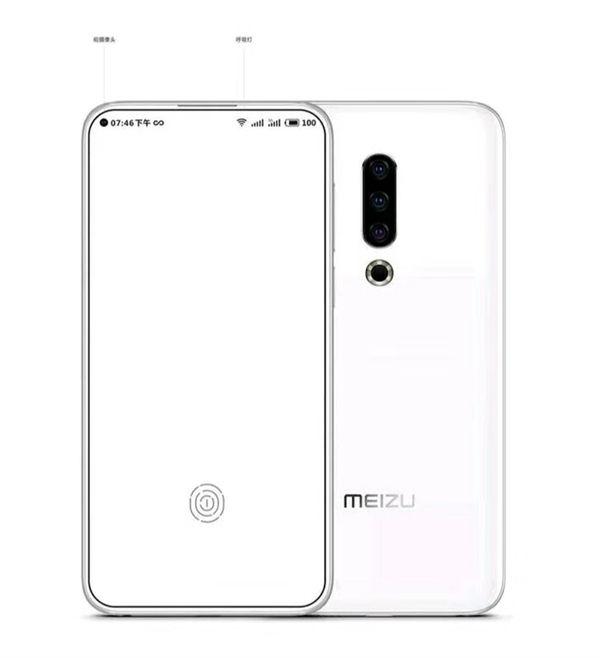 Глава компании прокомментировал недавний эскиз Meizu 16s – фото 2