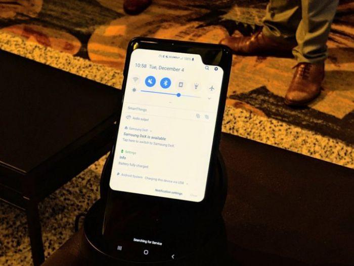 Samsung показала 5G смартфон и он какой-то странный – фото 1