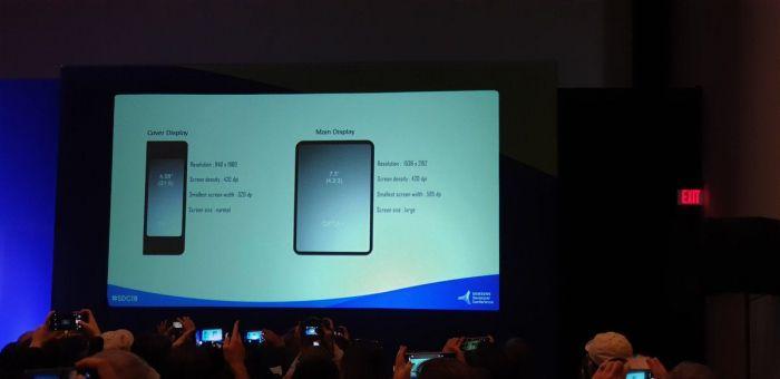 Подробности о характеристиках дисплеев складного мобильника Samsung и интерфейсе One UI – фото 1