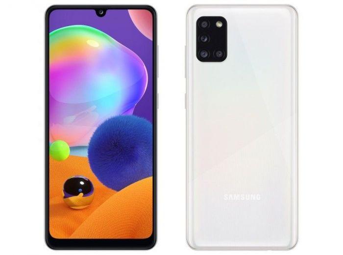 Анонсирован Samsung Galaxy A31: дисплейный сканер, квадрокамера и емкая батарейка