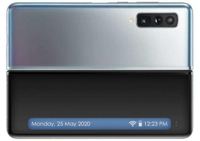Концепт Samsung Galaxy Fold Lite: внешний дисплей изменился – фото 3