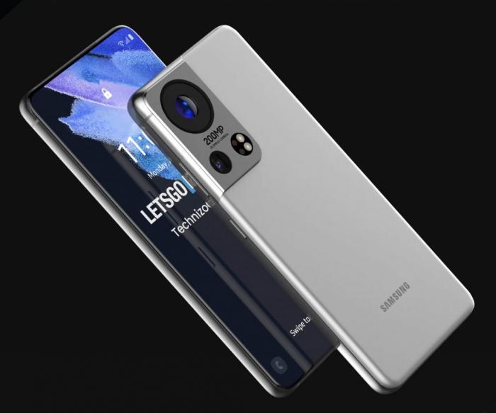 Концепт Samsung Galaxy S22: камера Olympus и датчик на 200 Мп – фото 1