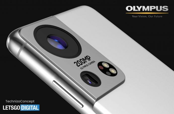 Концепт Samsung Galaxy S22: камера Olympus и датчик на 200 Мп – фото 2