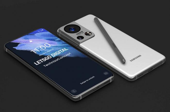 Концепт Samsung Galaxy S22: камера Olympus и датчик на 200 Мп – фото 3