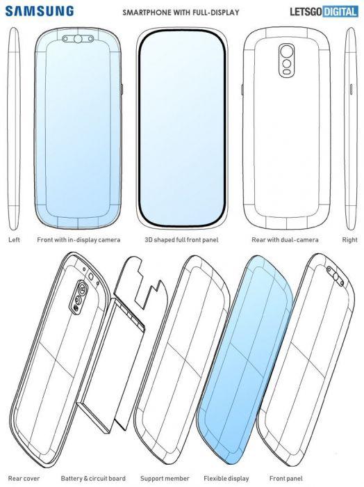 Samsung хочет изогнуть смартфон со всех сторон – фото 2