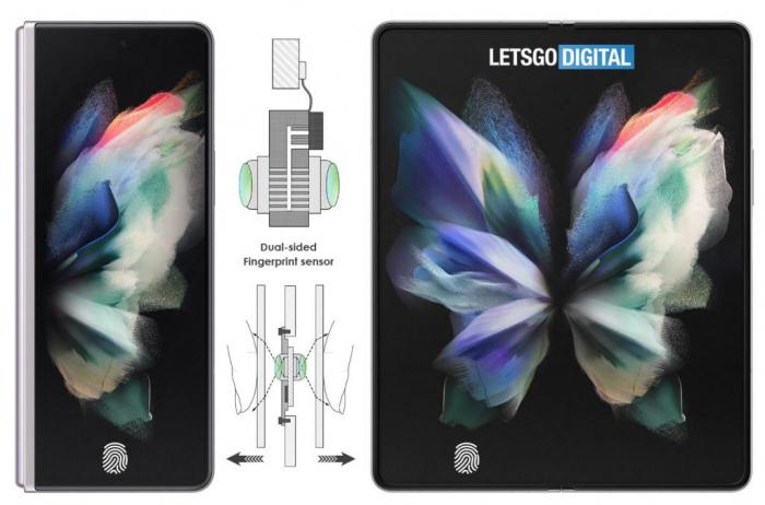 Samsung запатентовала двухсторонний датчик отпечатков пальцев – фото 1