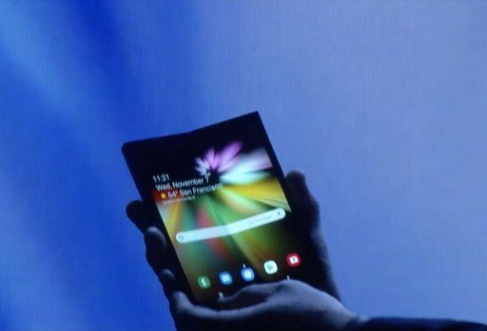 Samsung показала инновационный складной смартфон с гибким дисплеем – фото 3