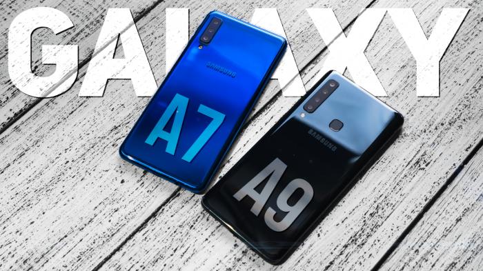 Видеообзор: блиц-сравнение «породистых середнячков» Samsung Galaxy A9 и Galaxy A7 – фото 1