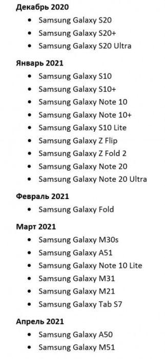 Samsung рассказала кому и когда ждать обновления до Android 11 – фото 1