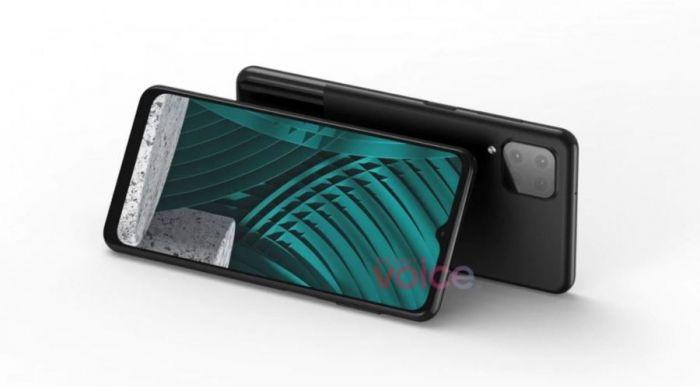 Samsung Galaxy M12 сзади