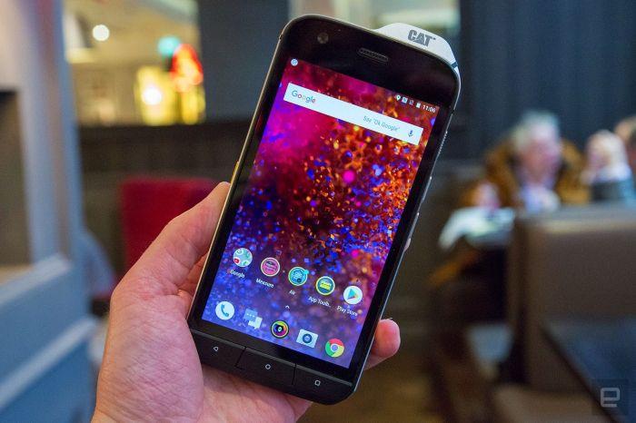 Cat S61 — защищенный смартфон, что «видит» сквозь стены – фото 4