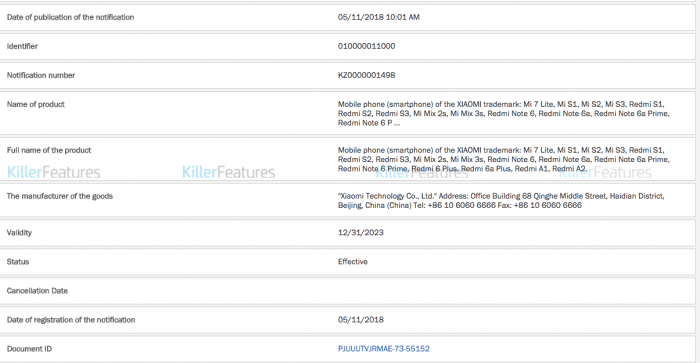 Список смартфонов Xiaomi, которые могут выйти на рынок в будущем – фото 1