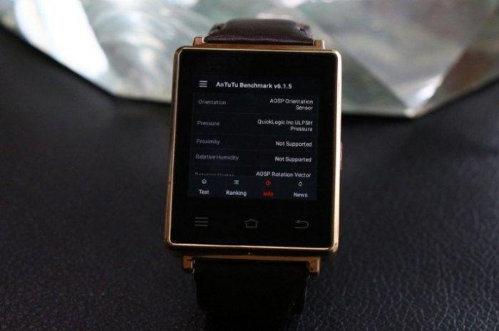 No.1 D6: смарт-часы на платформе Android 5.1 и с 1 Гб оперативки прошли испытание в AnTuTu – фото 2