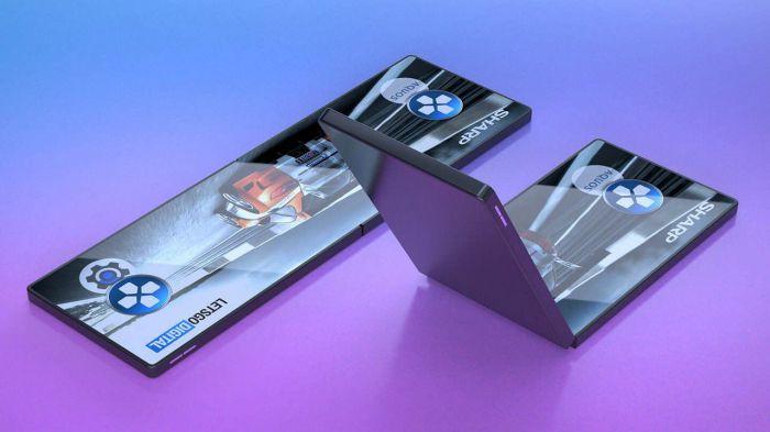 Sharp показала свой прототип гибкого смартфона – фото 1