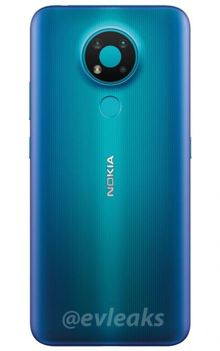 Бюджетный Nokia 3.4 выглядит оригинально – фото 1