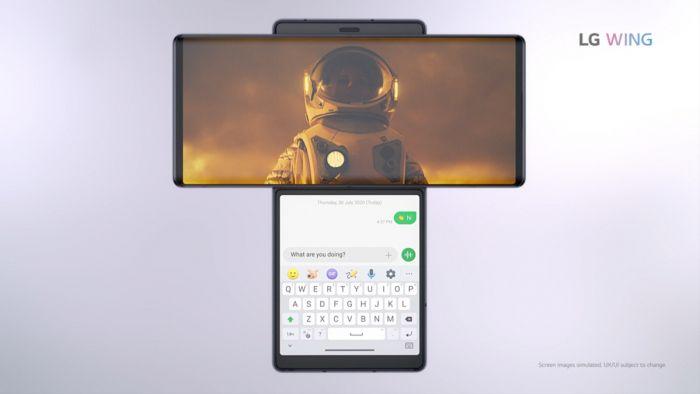 Представлен LG Wing: поверни экран – фото 4