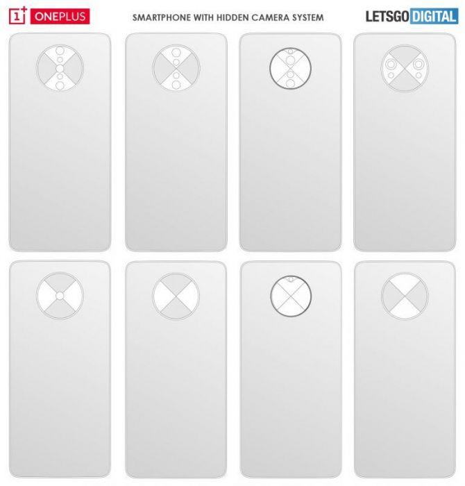 OnePlus запатентовала концепт полноэкранного смартфона с интересной основной камерой – фото 3