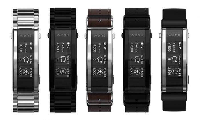 Смарт-ремешок Sony Wena 3: сделает обыденные часы умными