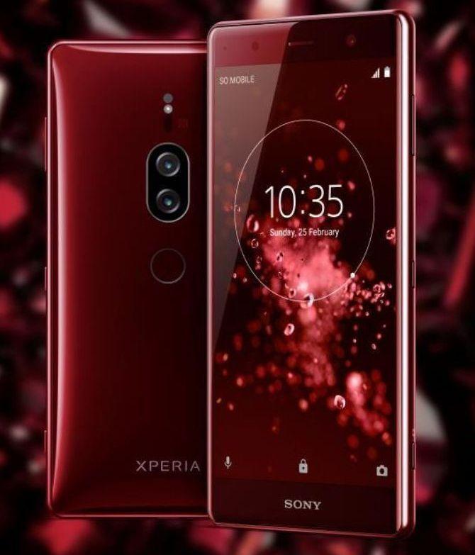 Sony Xperia XZ2 Premium получит два броских цвета – фото 1