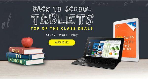 Xiaomi Mi Notebook Air и Cube i7 Book на чипе Intel Skylake Core m3, а также другие интересные новинки от Gearbest.com  в акции «Back to school» – фото 1
