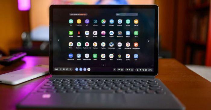 Galaxy Tab S6 с клавиатурой