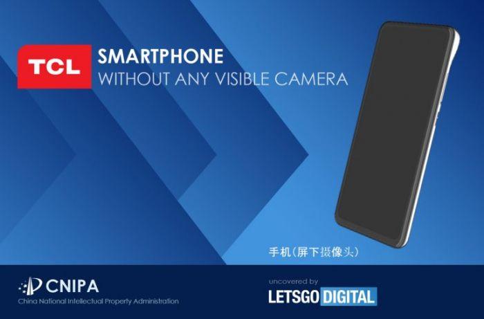 TCLхочет удивить смартфоном с «невидимыми» камерами – фото 1