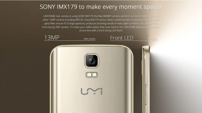 Umi Rome: экспресс-видеообзор смартфона с заявкой на хит продаж – фото 1