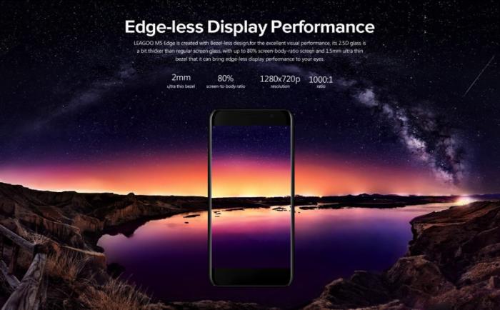 В рамках старта продаж Leagoo M5 Edge со скидкой $22 и бесплатные подарки – фото 3