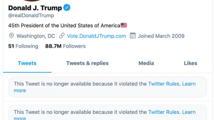 Twitter Дональд Трамп