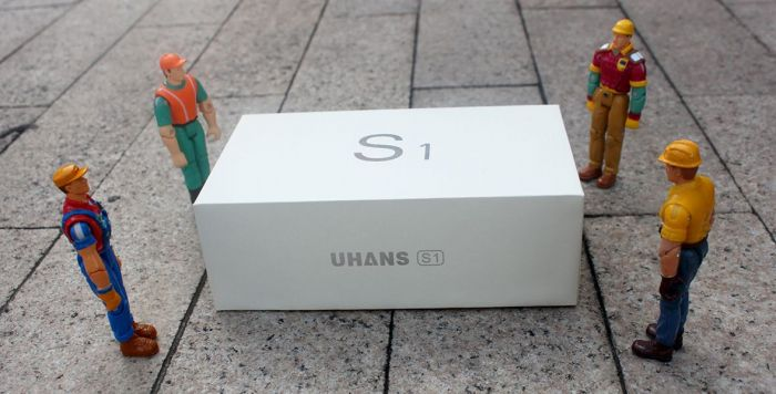 Портфолио «стеклянного» UHANS S1 – фото 1
