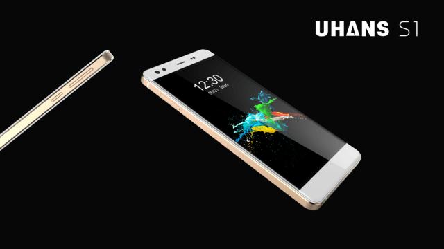 UHANS S1: смартфон с МТ6753 и 3 Гб ОЗУ с заявкой на стильное решение – фото 1