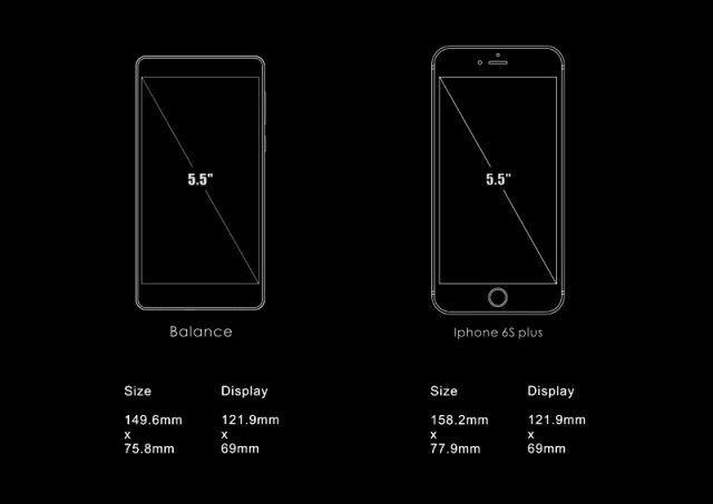 Дисплей UHANS Balance займет 75% фронтальной стороны – фото 2