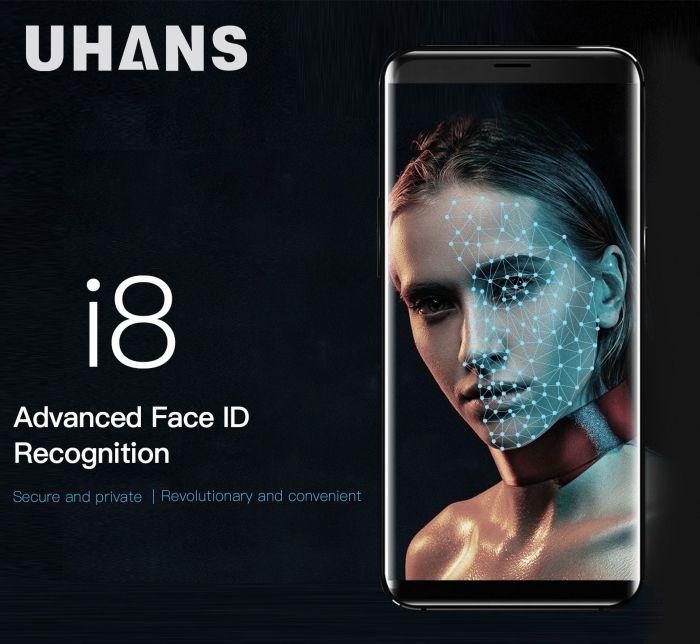 Безрамочный UHANS I8 с функцией распознавания лица за $129,99 на Geekbuying – фото 2