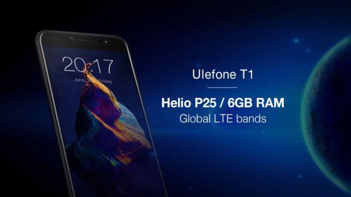 Анонс Ulefone T1 с Helio P25 и 6 Гб ОЗУ – фото 1