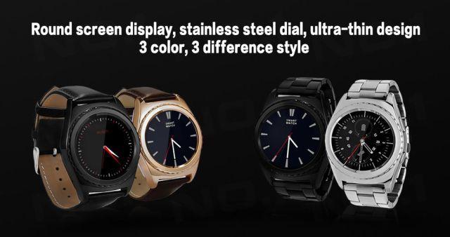 Смарт-часы No.1 G4 – копия Samsung Gear S2 всего за $39,99 – фото 2