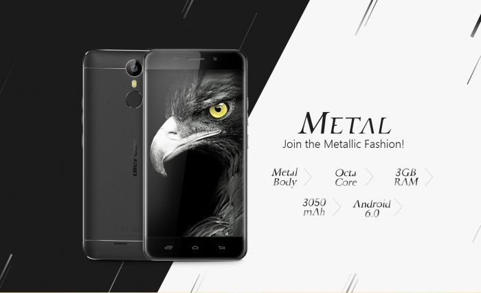 Ulefone Metal за $109,99 в магазине Tomtop.com. Кожаный чехол и защитное стекло в подарок – фото 2