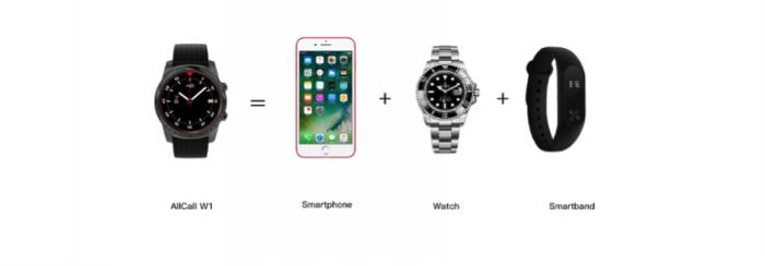 Смарт-часы AllCall W1 — это как твой смартфон, но в миниатюре – фото 2