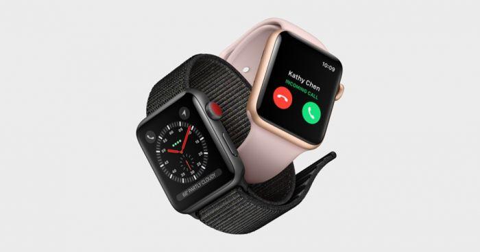 Apple Watch 3 в двух цветах