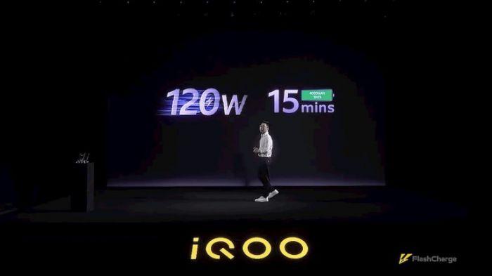 iQOO научилась заряжать батарейку на мощности 120 Вт за 15 минут – фото 1