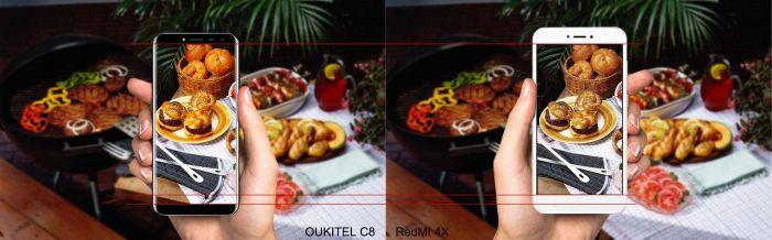 Выбираем лучший недорогой смартфон: Oukitel C8 или Xiaomi Redmi 4X – фото 5