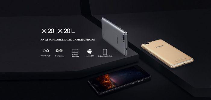 Doogee X20 — бюджетник с двойной камерой и Android 7.0 Nougat – фото 2