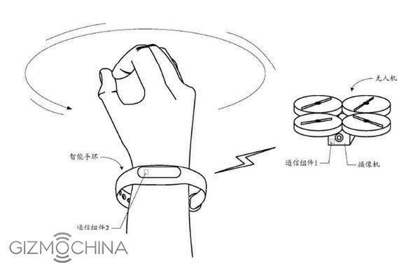 Xiaomi получил патент на управляемый с носимого гаджета дрон – фото 2