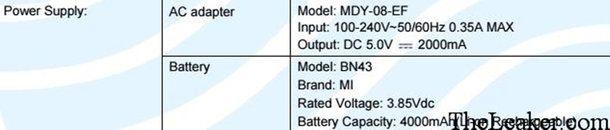 Xiaomi Redmi Note 4 одобрен в FCC. Чип от Qualcomm? – фото 3