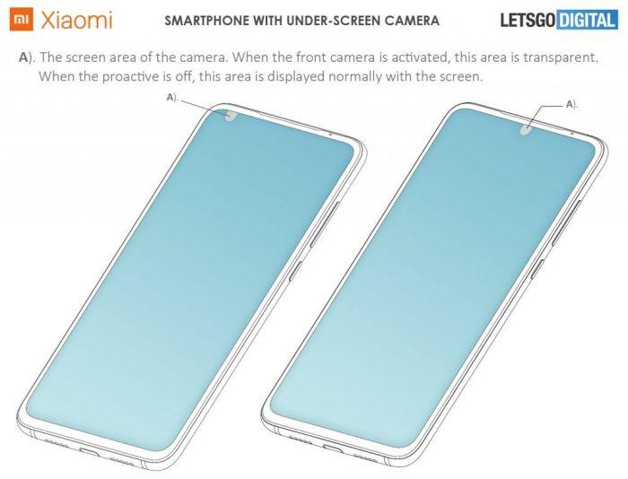 Патент подтвердил планы Xiaomi выпустить смартфон с подэкранной камерой – фото 2