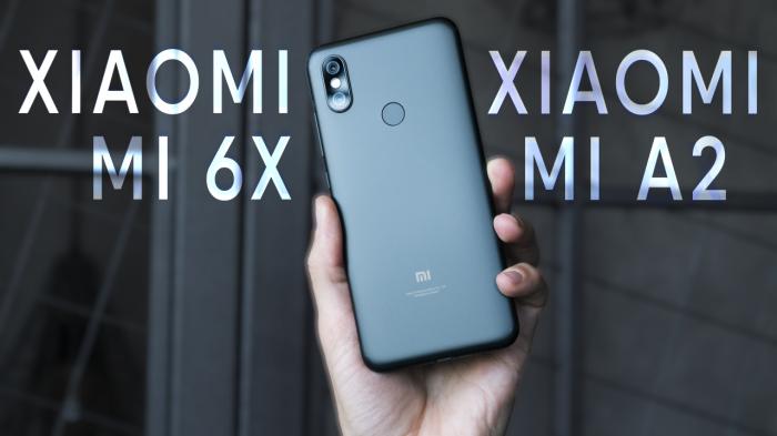 Видеообзор Xiaomi Mi 6X и сравнение с Xiaomi Redmi Note 5 – фото 1