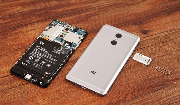 разобранный Xiaomi