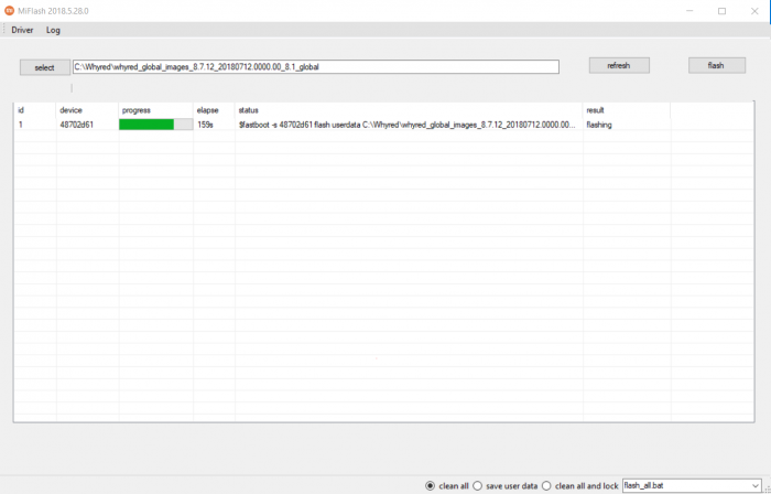 Как прошить телефон Xiaomi через TestPoint – фото 9